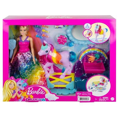 Игровой набор Barbie Дримтопия Кукла и единорог, GTG01