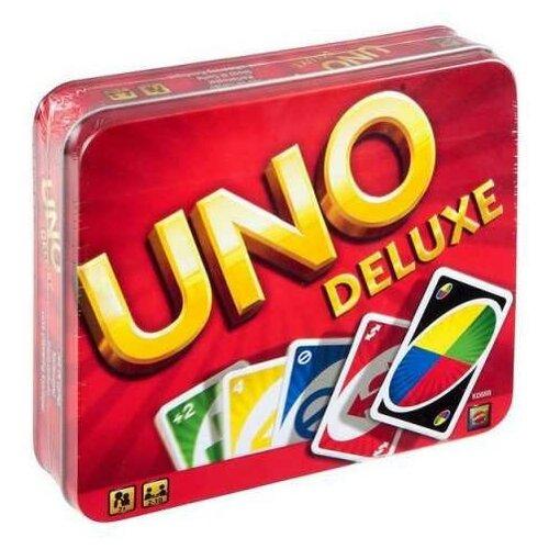 Фото - Настольная игра Mattel UNO версия Люкс настольная игра уно дисплей uno