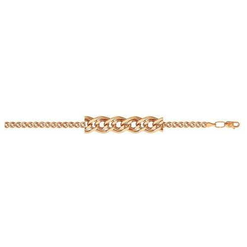 АДАМАС Браслет золотой плетения Нонна БН260А2-А51, 18 см, 3.98 г