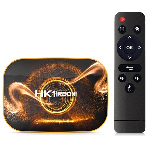 Фото - Андроид ТВ приставка TV BOX HK1 RBOX R1 SoC RK3318 2GB/16GB Android 10 тв приставка лайм tv box z2 plus 4 32 гб