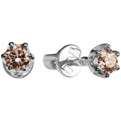 Vesna jewelry Серьги 4050-256-09-00 vesna jewelry серьги 2608 256 09 00