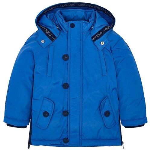 Куртка Mayoral 04448 размер 6(116), 034 голубой футболка mayoral размер 6 116 голубой