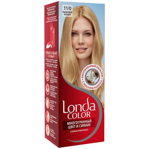 Фото - Londa стойкая крем-краска для волос Многогранный цвет и сияние, 11/0 (19) платиновый блондин londa стойкая крем краска для волос многогранный цвет и сияние 6 45 45 гранатово красный