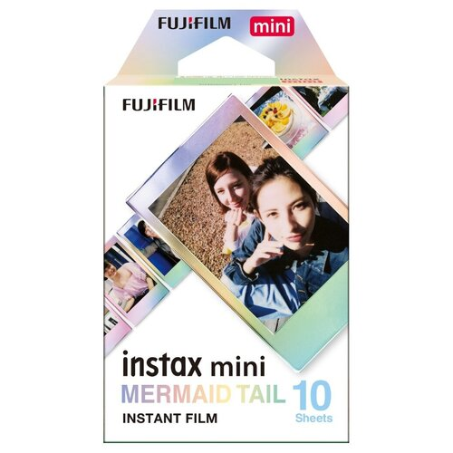 Fujifilm Instax Mini Film Mermaid Tail WW1 10/PK для Instax