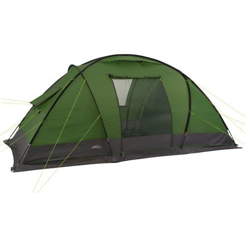 Палатка четырехместная TREK PLANET Trento 4, цвет: зеленый