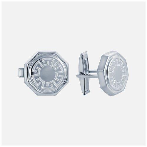 ELEMENT47 Запонки из серебра 925 пробы G62_ZP_WG