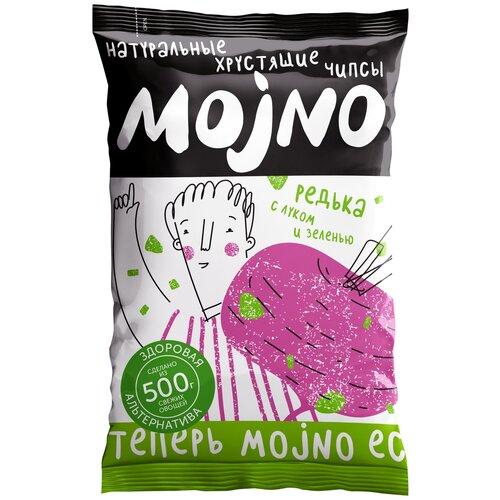 Чипсы MOjNO натуральные Редька с луком и зеленью, 75 г крекеры vitalia с чили и луком 75 г