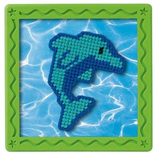 Dimensions Набор для вышивания Гобелен Голубой дельфин 18 х 18 см (72979)