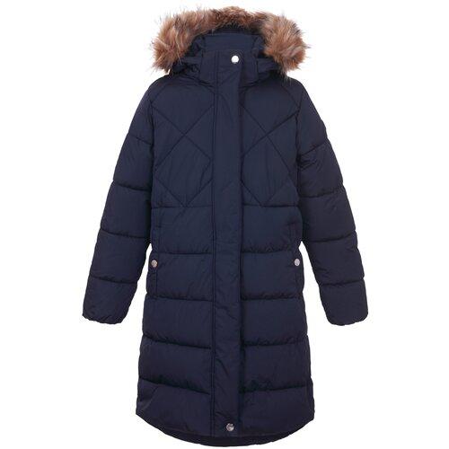 Пальто LUHTA 434063396L6V391 размер 158, темно-синий luhta шарф женский luhta alana