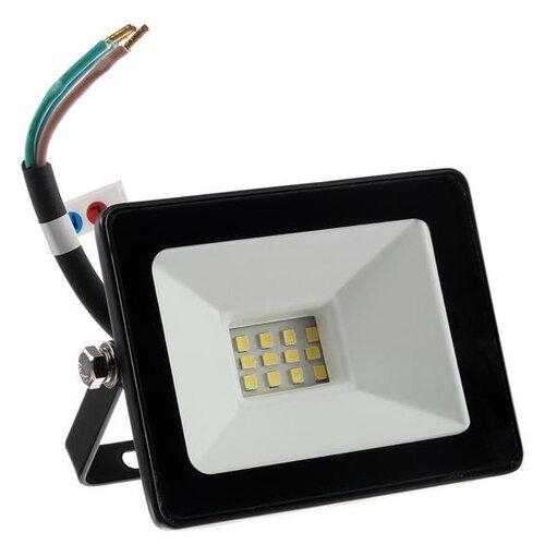 Прожектор светодиодный Smartbuy FL SMD LIGHT, 10 Вт, 6500 К, 550-800Лм, IP65, холодный белый 3804027
