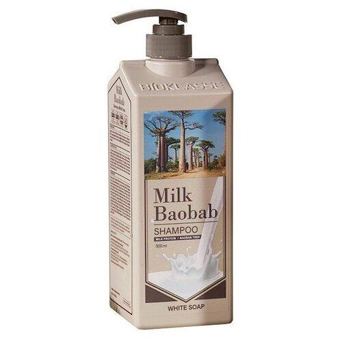 MB PWS Шампунь MilkBaobab Perfume Shampoo White Soap 500мл, Milk Baobab  - Купить