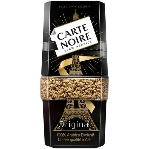 Кофе растворимый Carte Noire Original, Арабика, стеклянная банка, 95 г кофе растворимый carte noire 95 г