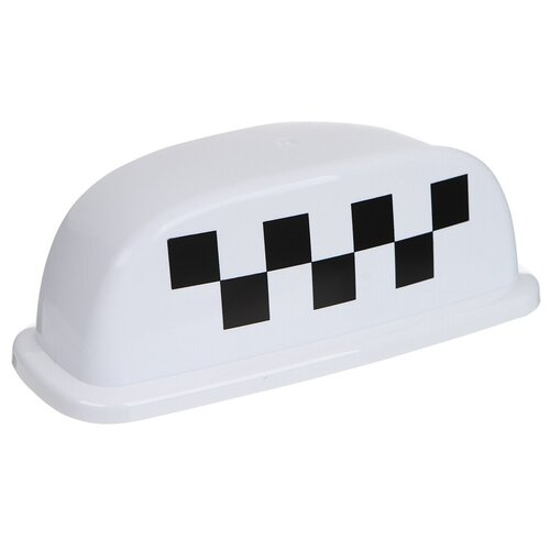 Знак Такси Шашечки Главдор GL-379 25x10x12cm White 52458