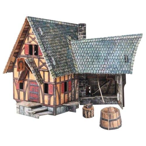 Сборная модель Умная Бумага Кузница (378)