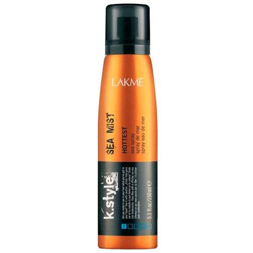 Lakme Спрей для укладки волос K.style hottest Sea mist, слабая фиксация, 150 мл joico термозащитный спрей для укладки волос ironclad слабая фиксация 233 мл