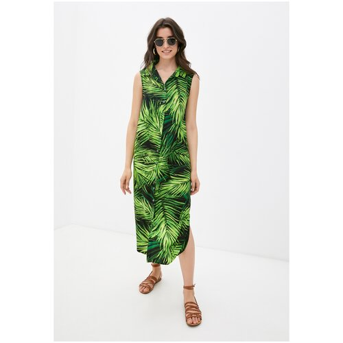 Платье - туника из вискозы Sunrise (PM France 221) размер L (48), тропик