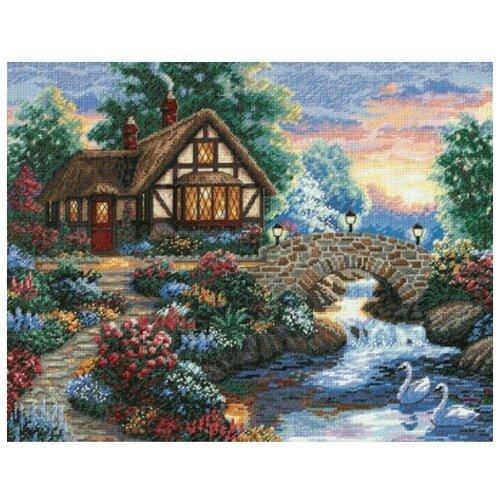 Фото - Dimensions Набор для вышивания Twilight Bridge (Сумеречный мост) 36 x 28 см 35172 набор для вышивания dimensions 03896 уютное укрытие46 x 23 см