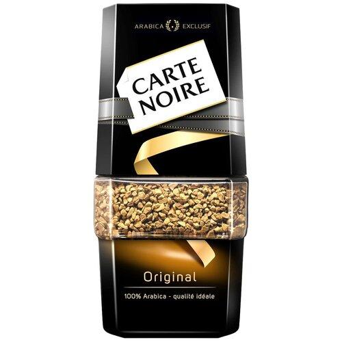 Кофе растворимый Carte Noire Original, Арабика, стеклянная банка, 47.5 г кофе растворимый carte noire 95 г