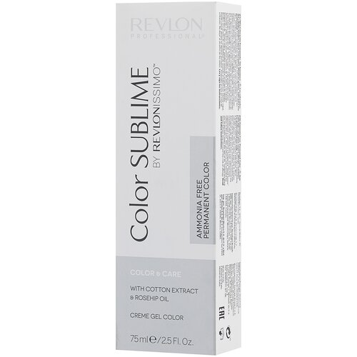 Купить Revlon Professional Revlonissimo Color Sublime стойкая краска для волос, 5.35 светло-коричневый золото-махогон, 75 мл