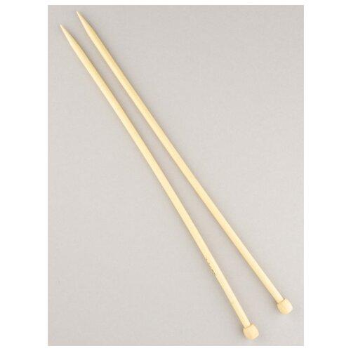 Купить Спицы для вязания d7.0мм 35см-36см, BL2, Гамма, бамбук, Gamma