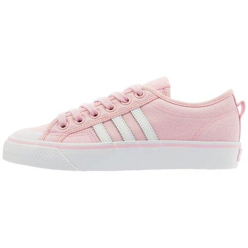 Фото - Кеды adidas Originals Nizza размер 7.5, pink мужские кеды adidas originals x wales bonner nizza low
