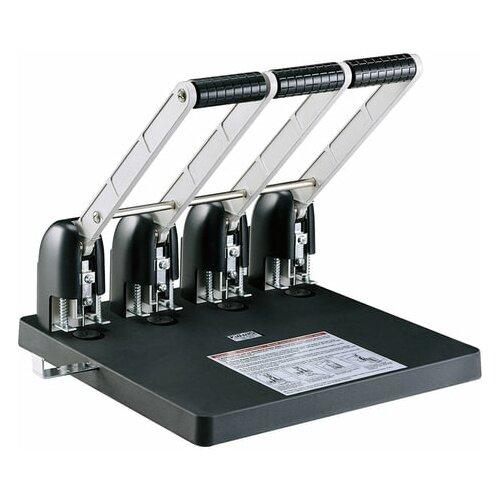 Фото - Дырокол на 4 отверстия мощный KW-trio, до 150 листов, черный, 954, -954, 1 шт. дырокол kw trio 999d 2 4 отверстия 10 листов черный