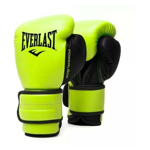 Перчатки тренировочные Everlast Powerlock PU 2 12oz сал.