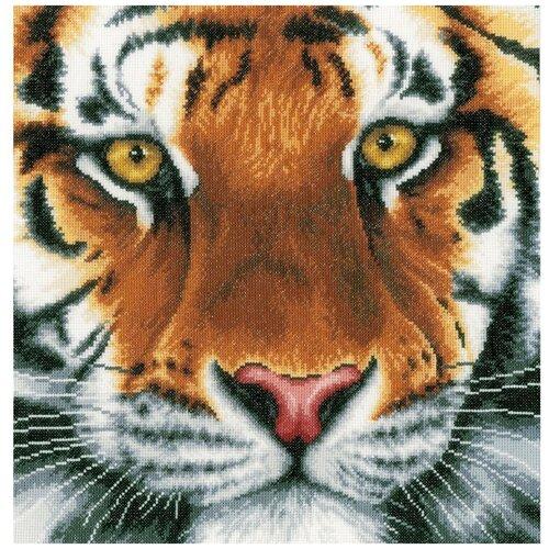 Купить Lanarte Набор для вышивания Tiger 35 х 34 см (PN-0156104), Наборы для вышивания