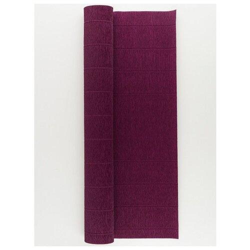 Купить Бумага гофрированная 50см х 2, 5м., 180г/м., Cartotecnica Rossi, 588 т.бордовый, Цветная бумага и картон