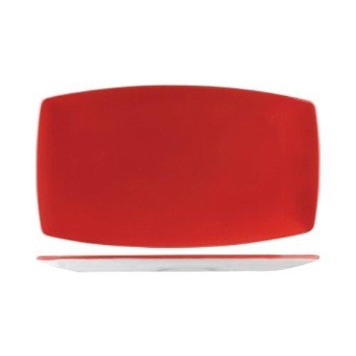 Блюдо 35.5x20.5 см RED, STEELITE 3020508