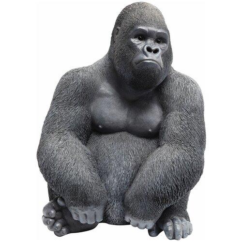 KARE Design Статуэтка Gorilla, коллекция Горилла 30*39*28, Полирезин, Коричневый