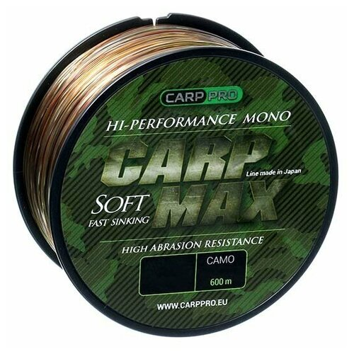 Леска Carp Pro Carp Max Camo 600м 0.28мм