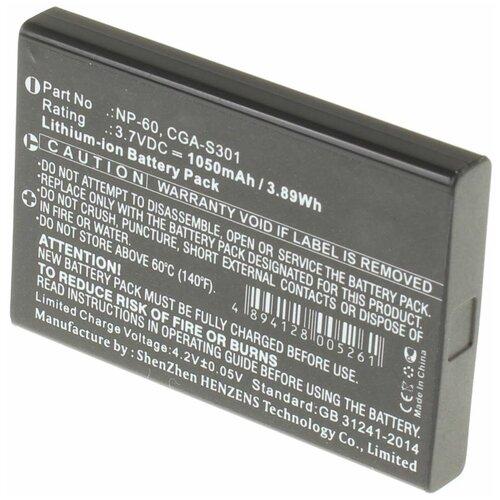 Фото - Аккумуляторная батарея iBatt 1050mAh для Benq, Hp, Kodak, Ricoh, Samsung, Toshiba Li-20B, BP-244, SB-L1037, L1812A, KLIC-5000, D-Li2, Photosmart R07, A1812A аккумуляторная батарея ibatt 850mah для pentax praktica samsung klic 7005 np 40n