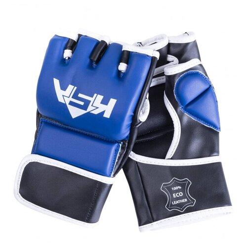 Любительские перчатки KSA Wasp для MMA синий M