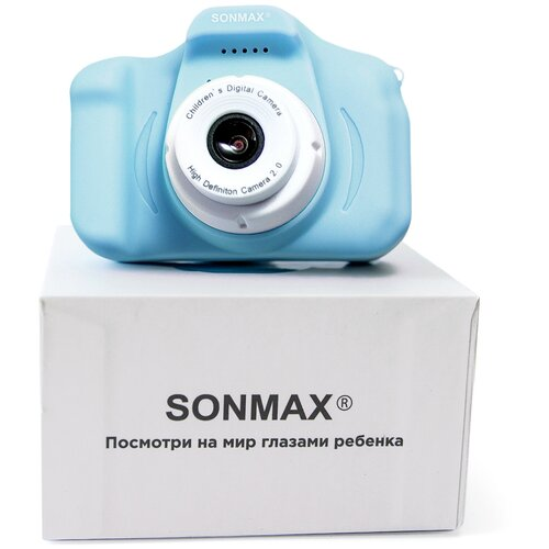Фото - Фотоаппарат цифровой Sonmax детский (голубой) детский растущий стул конёк горбунёк