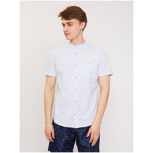 Рубашка Zolla размер XXXL светло-голубой
