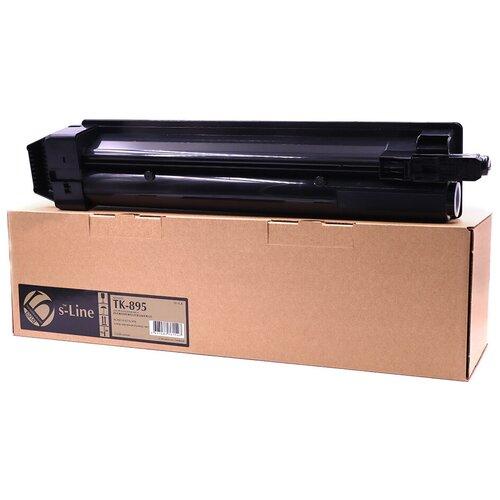 Фото - Тонер-картридж булат s-Line TK-895K для Kyocera FS-C8020 (Чёрный, 12000 стр.) тонер картридж булат s line tk 475 для kyocera fs 6025mfp чёрный 15000 стр
