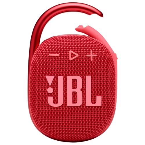 Портативная акустика JBL Clip 4, красный портативная акустика jbl clip 3 черный