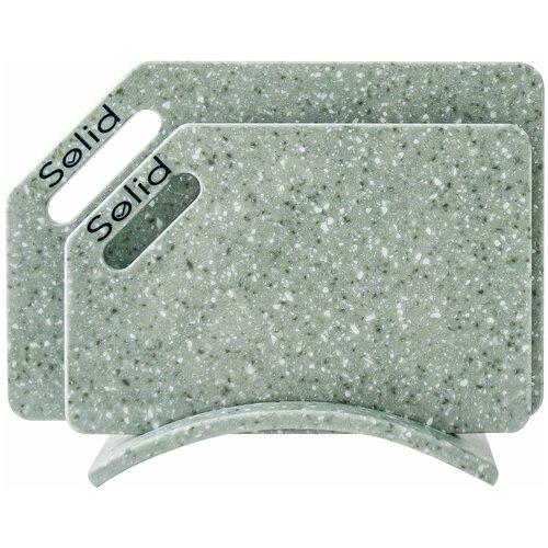 Разделочные доски Solid набор Лотос набор 4 гибкие разделочные доски stoneline