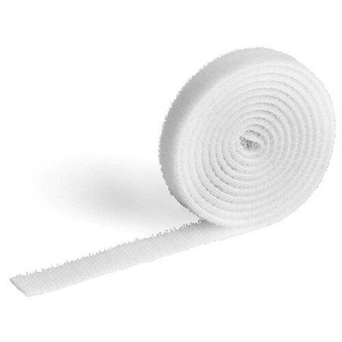 Фото - Лента на липучке для фиксации кабеля DURABLE CAVOLINE® GRIP, 1000х10мм, белый лента на липучке для фиксации кабеля durable cavoline grip 1000х20mm black 503201