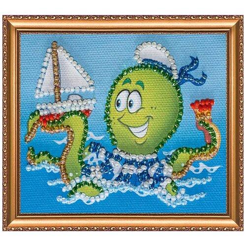 АМА-069 Набор-магнит для вышивания 'Абрис Арт' 'Морской десант', 8*7 см