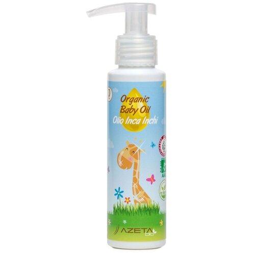 AZETAbio Органическое масло для малышей с Инка Инчи, 100 мл недорого