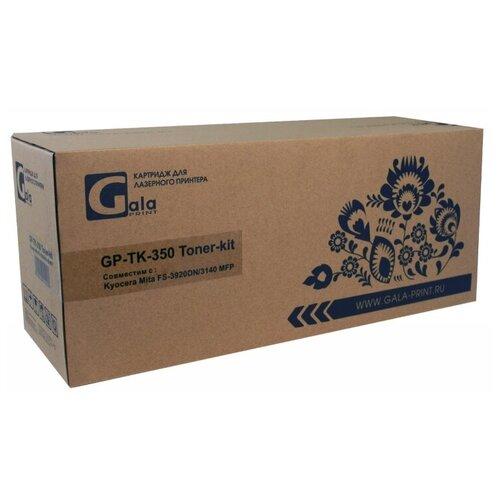 Тонер-кит GP-TK-350 для принтеров Kyocera Mita FS-3920DN, 3140 MFP 15000 копий + бункер отработанного тонера GalaPrint