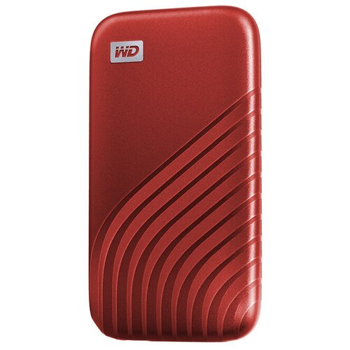 Фото - Твердотельный накопитель Western Digital My Passport 500Gb Red WDBAGF5000ARD-WESN artplays для ps5 digital edit