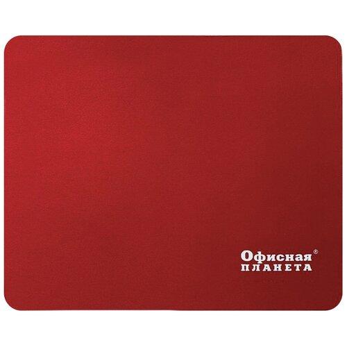 Коврик Офисная планета 512813 красный