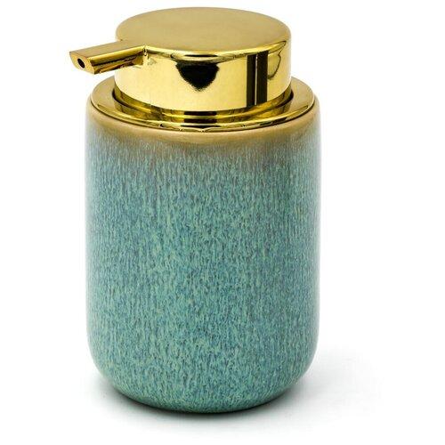 Дозатор для жидкого мыла Abby зелёный