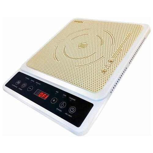 Фото - Индукционная плитка настольная HCI-167 1 конф.,2000вт индукционная варочная панель ginzzu hci 309