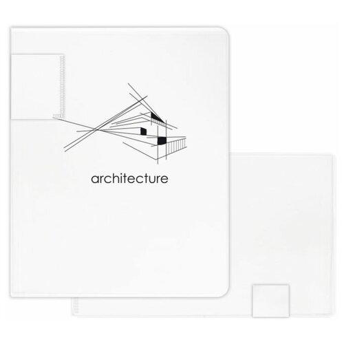 Папка-портфолио для документов пластиковая арт. 48306/ 12 ГОРОД (полипропилен, формат А3, 31.5x24.5 см, 20 отделение (-я), 20 файлов А3 формата, УФ-печать)