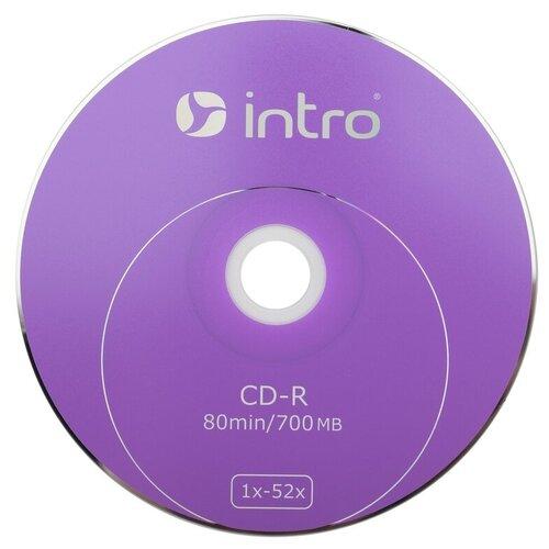 Носители информации CD-R, 52x, Intro, Shrink/25, Б0016205