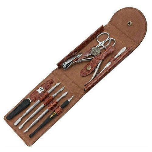 Фото - Маникюрный набор Zinger MS-1401 S, 9 предметов маникюрный набор с косметичкой zinger ms 1205 804 s 10 предметов